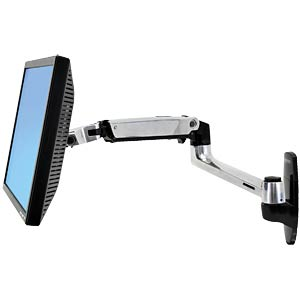 Monitor Halter, 1 Display, bis 24, Wandmontage ERGOTRON 45-243-026