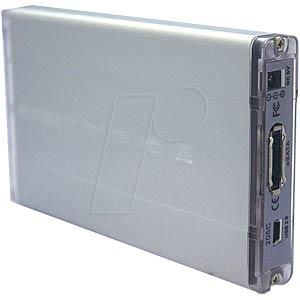 """Externes 6,4cm(2,5"""") Gehäuse S-ATA / USB + eSATA EVERTECH ET-1571"""