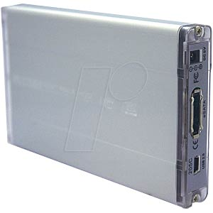 "External 6.4cm (2.5"") housing S-ATA/USB + eSATA EVERTECH ET-1571"