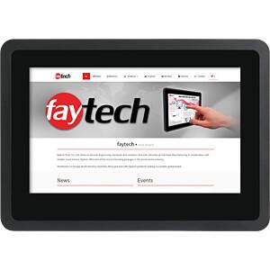 18cm Touchmonitor, schwarz, IP65, EEK A FAYTECH FT07TMBCAP