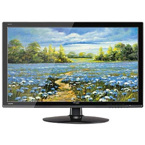 69cm Monitor, Lautsprecher, 1080p, EEK A HANNSPREE HL274HPB