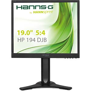 48cm - 5:4 - VGA/DVI/Audio - Pivot HANNSPREE HP194DJB