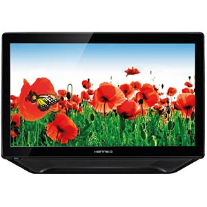 58cm - Touch - LED - VGA/DVI/HDMI/Audio - EEK A HANNSPREE HT231HPB