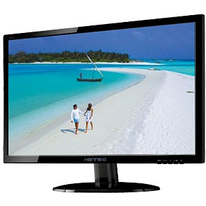 55 cm – VGA/DVI/Audio – 1080p HANNSPREE HE225DPB
