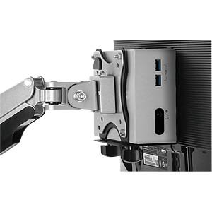 Mini-PC Halter für Monitorständer, schwarz ICYBOX IB-MSA102-VM