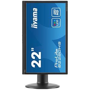 55cm Monitor, Lautsprecher, 1080p, Pivot, EEK B IIYAMA B2280HS-B1