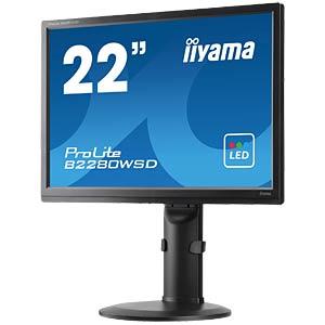 56cm - VGA/DVI/audio - pivot IIYAMA B2280WSD-B1