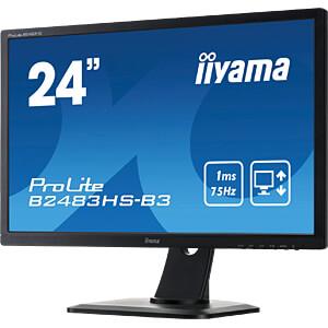 61cm Monitor, ProLite B2483HS, EEK A IIYAMA B2483HS-B3