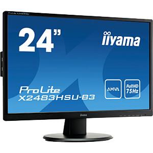 61cm Monitor, ProLite X2483HSU, EEK B IIYAMA X2483HSU-B3