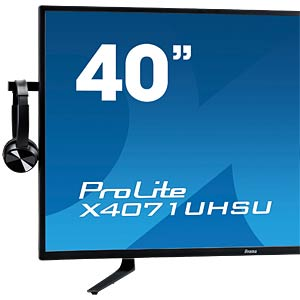 100cm Monitor, DP/3xUSB, 4k, EEK B IIYAMA X4071UHSU-B1