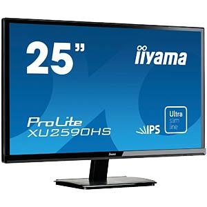 64cm - VGA/DVI/HDMI/Audio - EEC A IIYAMA XU2590HS-B1