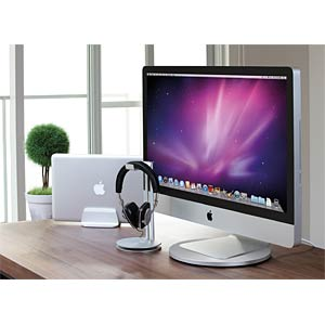 Rotating pedestal for iMac and Thunderbolt Display JUST MOBILE ST-666