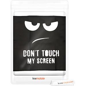 Bildschirm Schutzhülle, 24-26 Monitor, schwarz/weiß KWMOBILE 43618.01