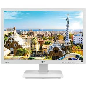 56cm Monitor, USB, Lautsprecher, mit Pivot, weiß LG 22BK55WY-W.AEU