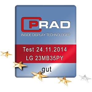 58cm - VGA/DVI//DP/Audio/USB - pivot LG 23MB35PY-B