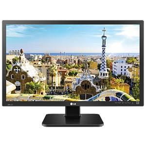 61cm Monitor, USB, Lautsprecher, Pivot, schwarz LG 24BK55WD-B.AEU