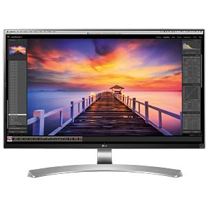69cm Monitor, mit Pivot, EEK A LG 27UD88-W.AEU