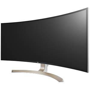 95cm Monitor, DPUSBUSB-C, Lautsprecher, Curved, EEK B LG 38UC99-W.AEU