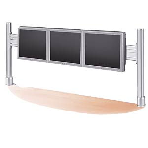 LCD rack for 1x3 monitors, table-top mounting ROLINE 17.03.1163