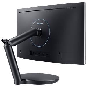 60cm Monitor, Lautsprecher, mit Pivot, EEK C SAMSUNG LC24FG70FQUXEN