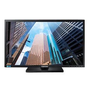 60cm Monitor, 1080p, mit Pivot, EEK B SAMSUNG LS24E65UPL/EN