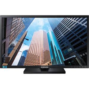 60cm Monitor, DVI/DP SAMSUNG LS24E65UXWG/EN