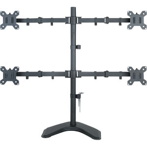 """ICA-LCD-2540 - Monitorhalter 4x LCD 13"""" - 27"""" Standfuß"""