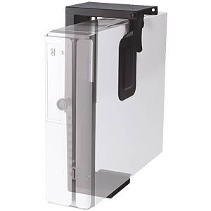 Mini-PC Halter, schwarz VALUE 17991140