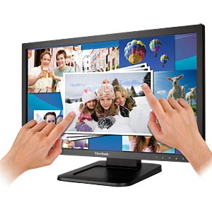 56cm - Touch - LED - D-SUB/DVI/USB - 1080p VIEWSONIC TD2220-2
