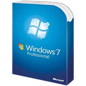Software, Windows 7 Professional, 64 Bit, SP1, deutsch (SB) MICROSOFT FQC-08291