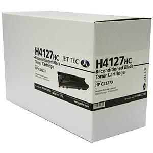 Toner - HP - schwarz - C4127C - rebuilt JET TEC 137H412730