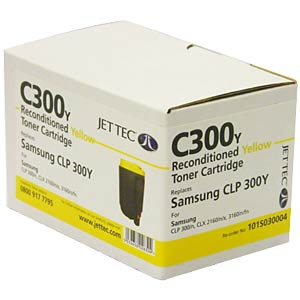 Jet Tec toner for SAMSUNG CLP 300, yellow JET TEC 137S030004 / 101S030004
