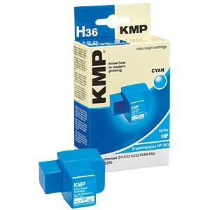 Tinte - HP - cyan - 363 - refill KMP PRINTTECHNIK AG 1700,0003