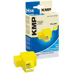 Yellow ink refill for HP Deskjet D6160... KMP PRINTTECHNIK AG 1700,0009