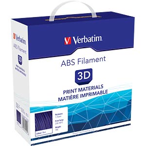 ABS Filament - blau - 1,75 mm - 1 kg VERBATIM 55012