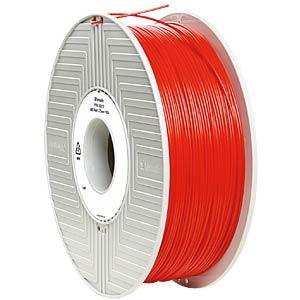 ABS Filament - rot - 1,75 mm - 1 kg VERBATIM 55013