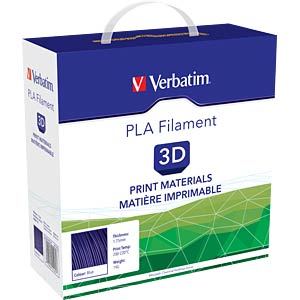 PLA Filament - blue - 1,75 mm - 1 kg VERBATIM 55269