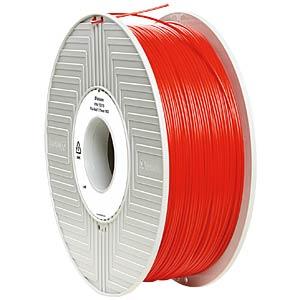PLA Filament - rot - 1,75 mm - 1 kg VERBATIM 55270