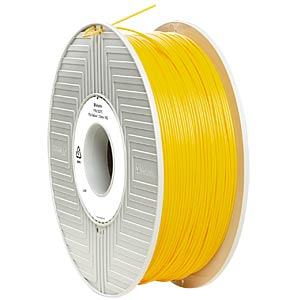 PLA Filament - yellow - 1,75 mm - 1 kg VERBATIM 55273
