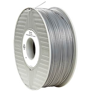 PLA Filament - silver/metal grey - 1,75 mm - 1 kg VERBATIM 55275