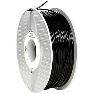 PLA Filament - black - 2,85 mm - 1 kg VERBATIM 55276