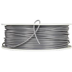 PLA Filament - silver/metal grey - 2,85 mm - 1 kg VERBATIM 55283
