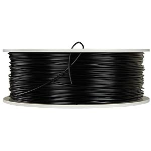 PLA Filament - black - 1,75 mm - 750 g VERBATIM 55284