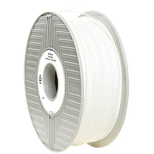 PLA Filament - white - 1,75 mm - 750 g VERBATIM 55285