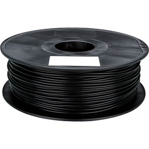 ABS Filament - black - 1,75 mm - 1 kg VELLEMAN ABS175B1