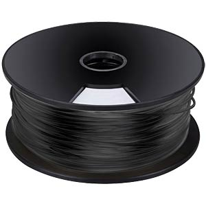ABS filament - black - 3 mm - 1 kg VELLEMAN ABS3B1