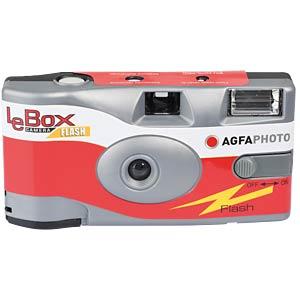 Einwegkamera für 27 Aufnahmen, LeBox Camera AGFAPHOTO 601020