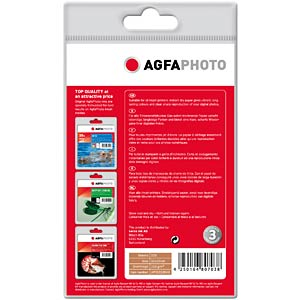 100 A6 sheets/glossy, 210g/m2 AGFAPHOTO AP210100A6