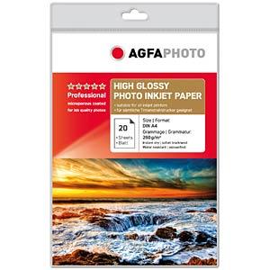 A4 20 BLATT / High Gloss, 260g/m² AGFAPHOTO AP26020A4