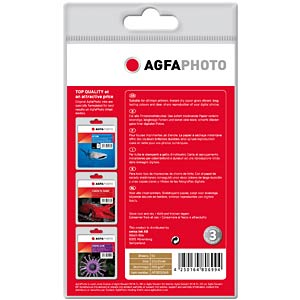 50 A6 sheets/high gloss, 260g/m2 AGFAPHOTO AP26050A6